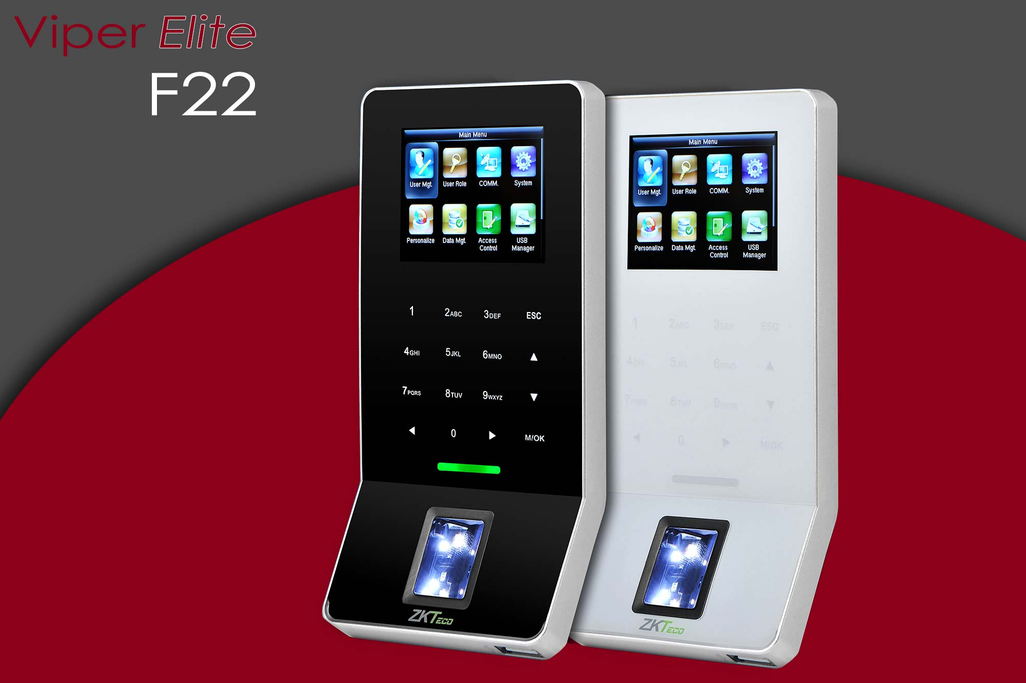 Viper F22 Time and Attendance and Access Control