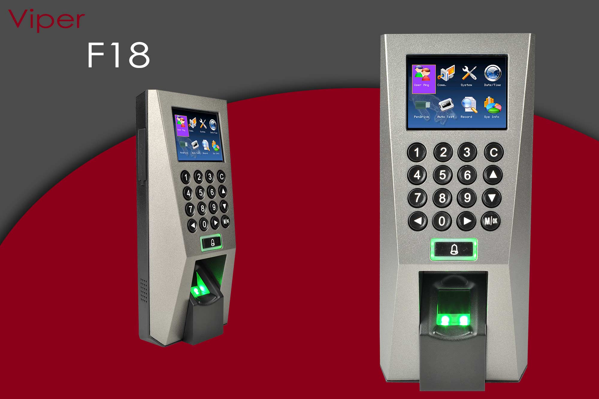 Viper F18 Time and Attendance and Access Control